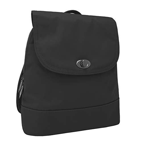 Travelon Women's Anti-Theft Tailored Backpack, Onyx (black) - 43195 580 - yrGear