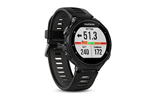 Garmin Forerunner 735XT GPS Multisport Watch in Black and Gray (010-01614-00) - yrGear