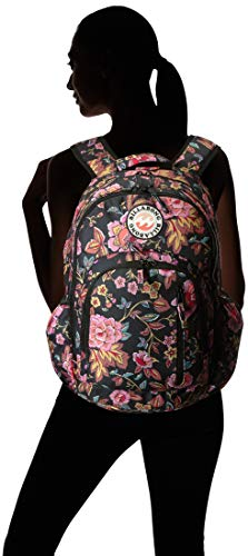 Billabong Girls' Big Roadie Jr Backpack, black Multi, ONE - yrGear