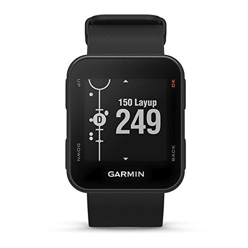 Garmin Approach S10 - Lightweight GPS Golf Watch, Black, 010-02028-00 - yrGear Australia