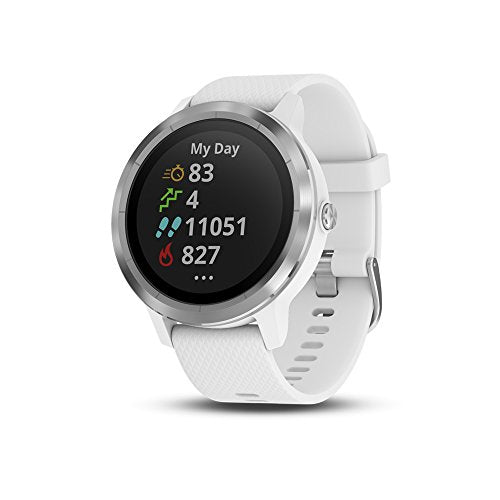 Garmin Vivoactive 3 smartwatch in white colour