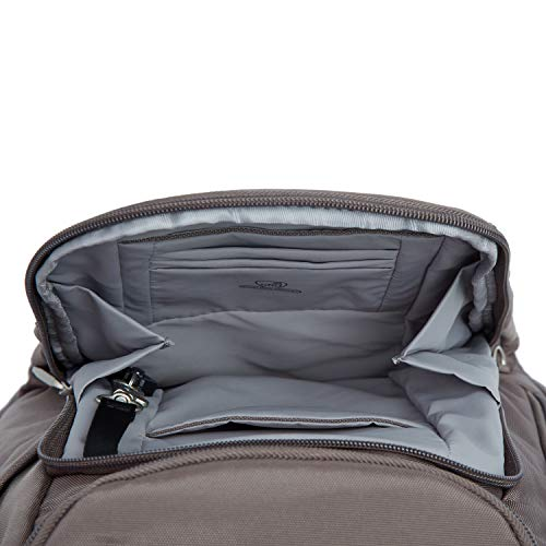 Travelon Anti Theft Classic Backpack, Nutmeg - yrGear