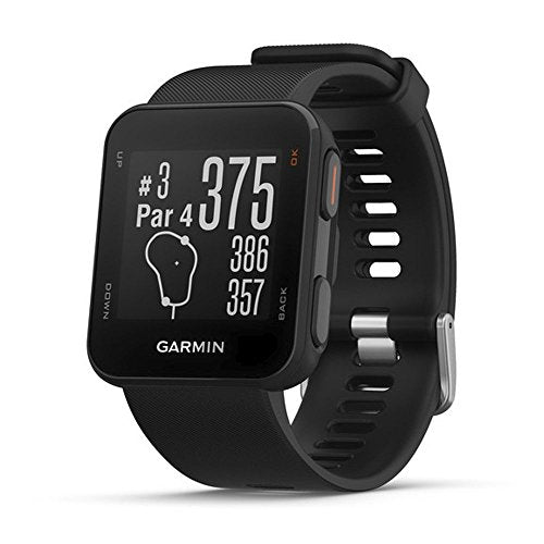 Garmin Approach S10 - Lightweight GPS Golf Watch, Black, 010-02028-00 - yrGear