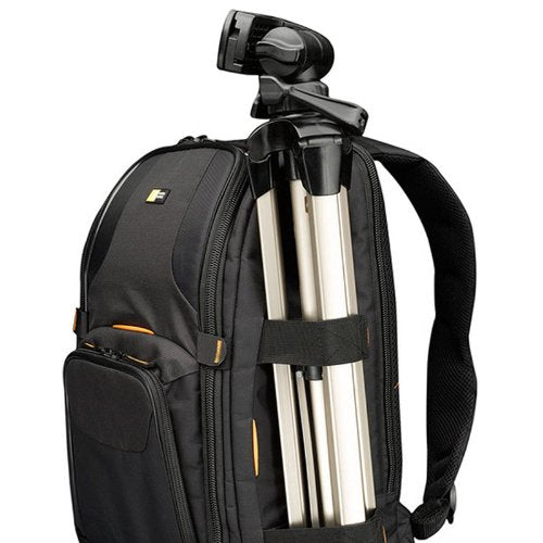 Case Logic SLRC-206 SLR Camera and 15.4-Inch Laptop Backpack (Black) - yrGear