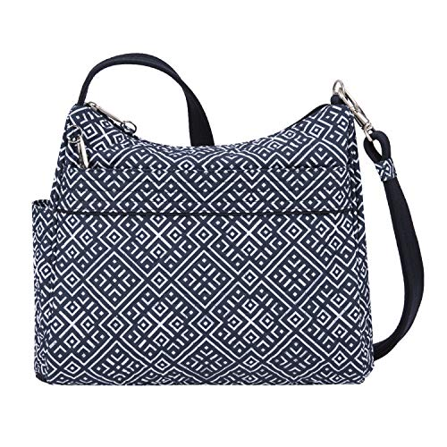 Travelon Anti-theft Boho Square Crossbody, Mosaic Tile (multi) - 43220-35A - yrGear
