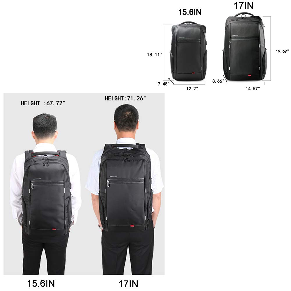 Kingsons Water-Resistant Anti-theft Backpack - yrGear