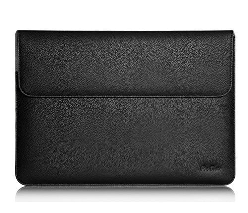 Leather-Look MacBook Sleeve Case