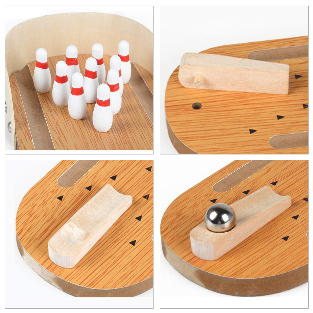 Desktop Bowling Game Set - yrGear Australia