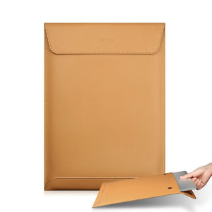 Split Leather Laptop Case for MacBook - yrGear Australia
