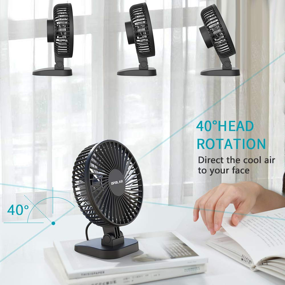 3 Speed Mini Desk Fan - yrGear Australia