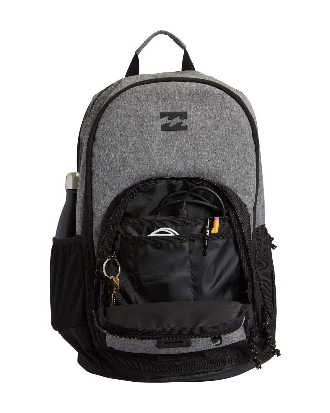 Billabong Men's Classic School Command Backpack, Stealth Black, One Size - yrGear