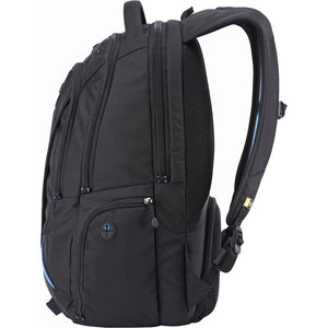 Case Logic BEBP-115 15.6-Inch Laptop and Tablet Backpack, Black - yrGear