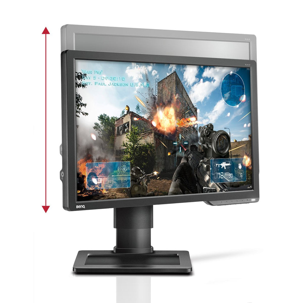 The 144hz benq monitor with height adjustment