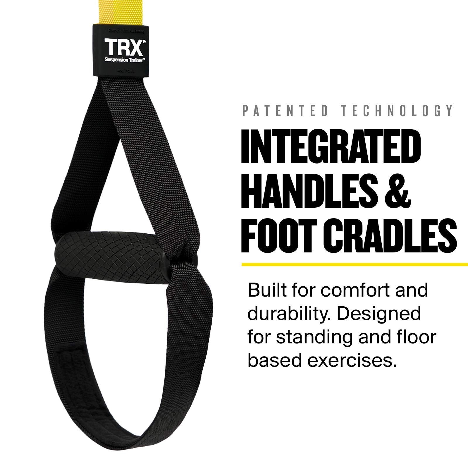 TRX PRO3 Suspension Trainer System Design & Durability| Includes Three Anchor Solutions, 8 Video Workouts & 8-Week Workout Program - yrGear