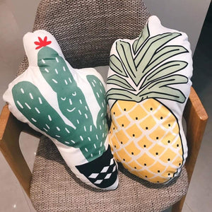 Soft Back Cactus/Pineapple Seat Cushions - yrGear