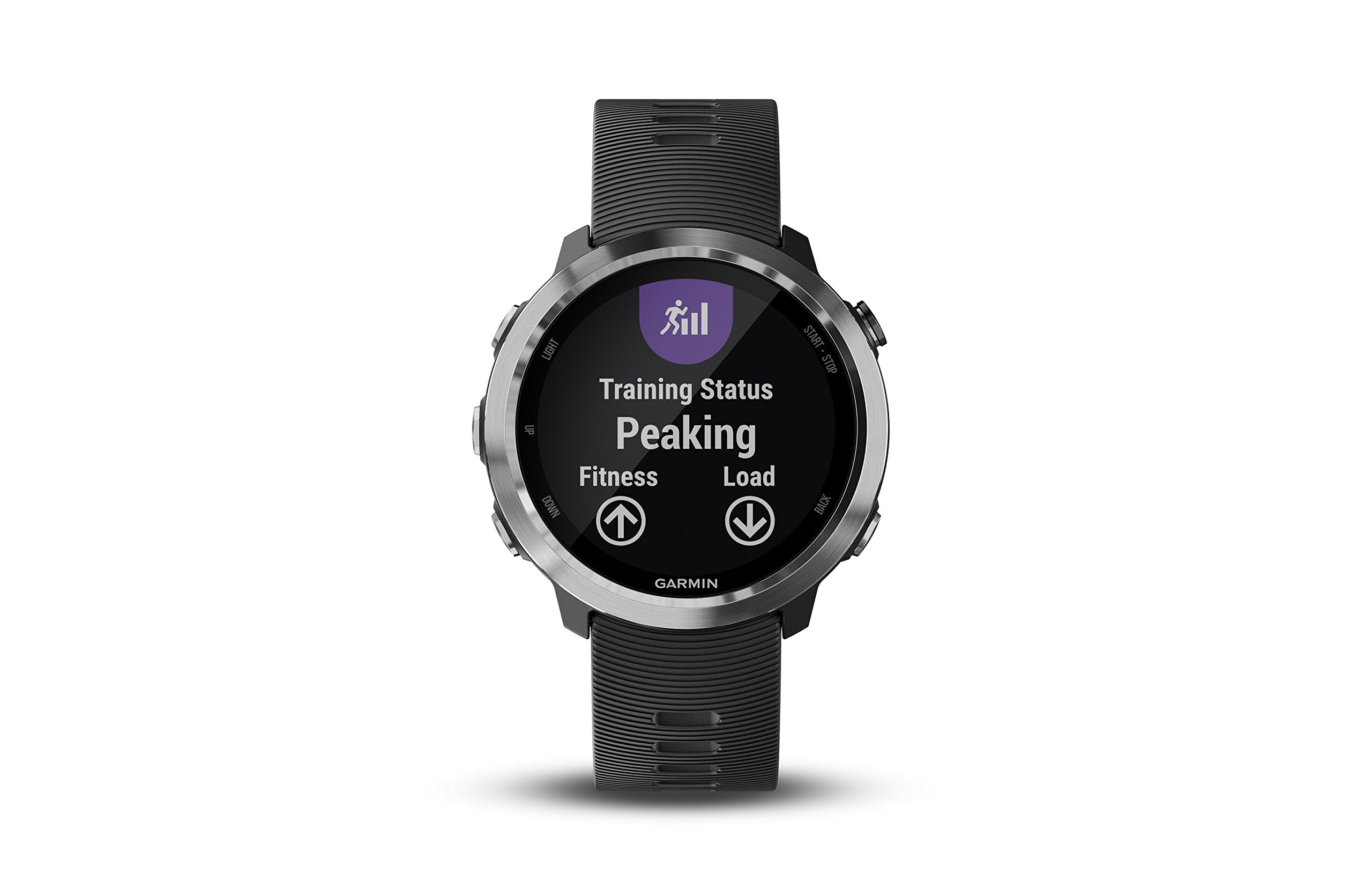 Garmin Forerunner 645, GPS Running Watch with Pay Contactless Payments and Wrist-Based Heart Rate, Black - yrGear