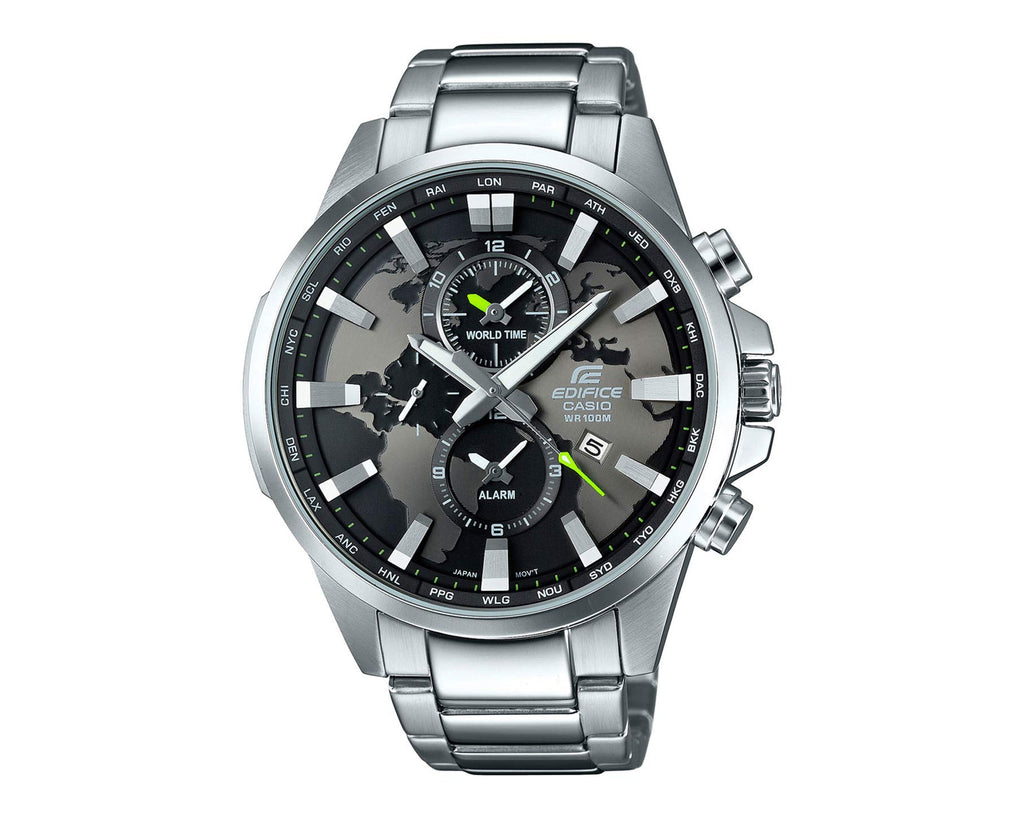 Casio Edifice Stainless Steel Chronograph Efr303D-1A Watch - yrGear