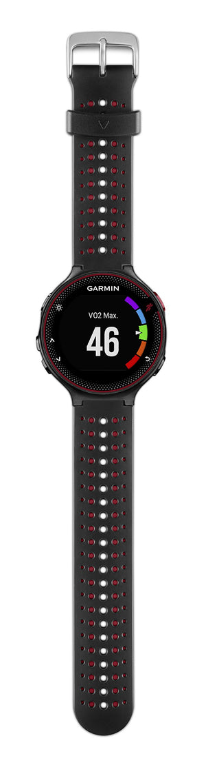 Garmin 010-03717-70 Forerunner 235, Black/Red - yrGear
