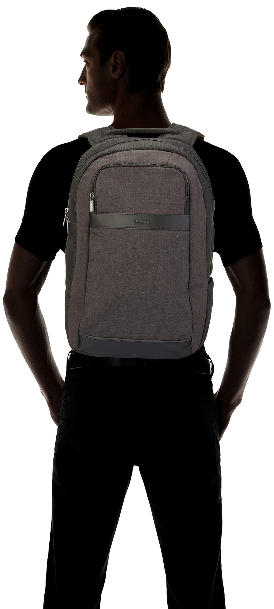"Targus City Smart Backpack for Laptops up to 15.6"" with Tablet Compartment, Dark Gray (TSB892) - yrGear Australia"