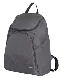 Travelon Anti Theft Classic Backpack (DARK GREY W/TEAL LINING)