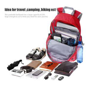 Foldable and Lightweight Travel Backpack by Zomake