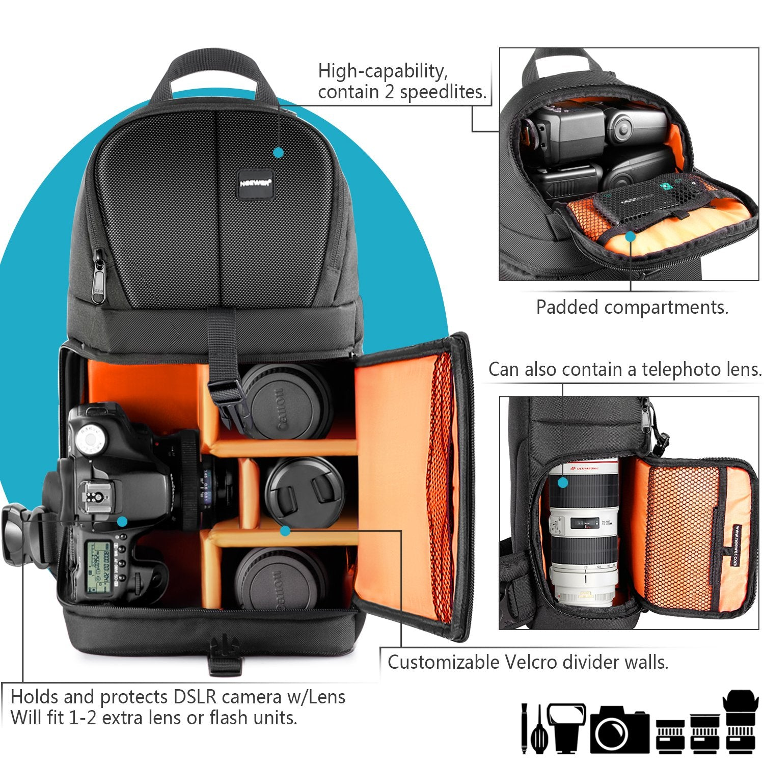 Pro Sling Camera Backpack - yrGear Australia