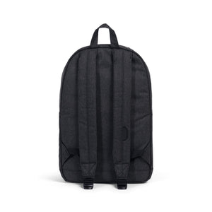 Herschel Pop Quiz Backpack: Crosshatch/ Black Rubber - yrGear