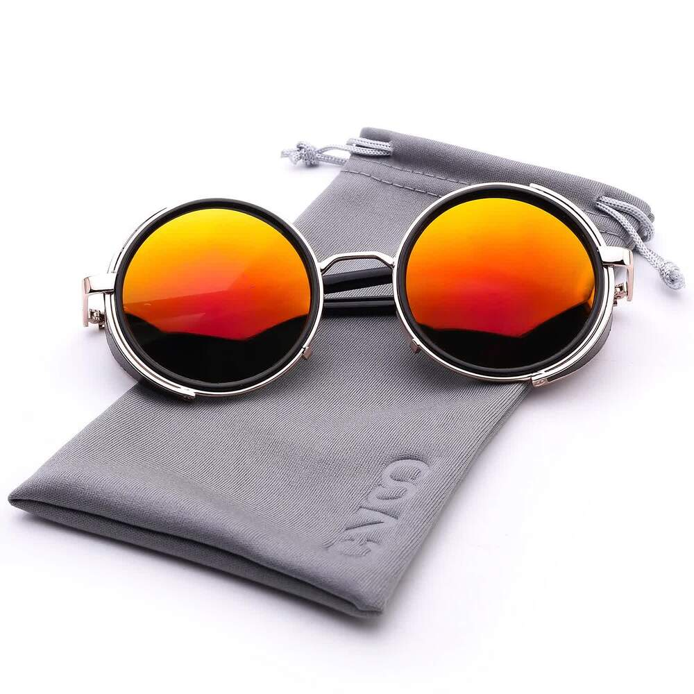 Polarized Steampunk Vintage Sunglasses for Men/Women - yrGear Australia