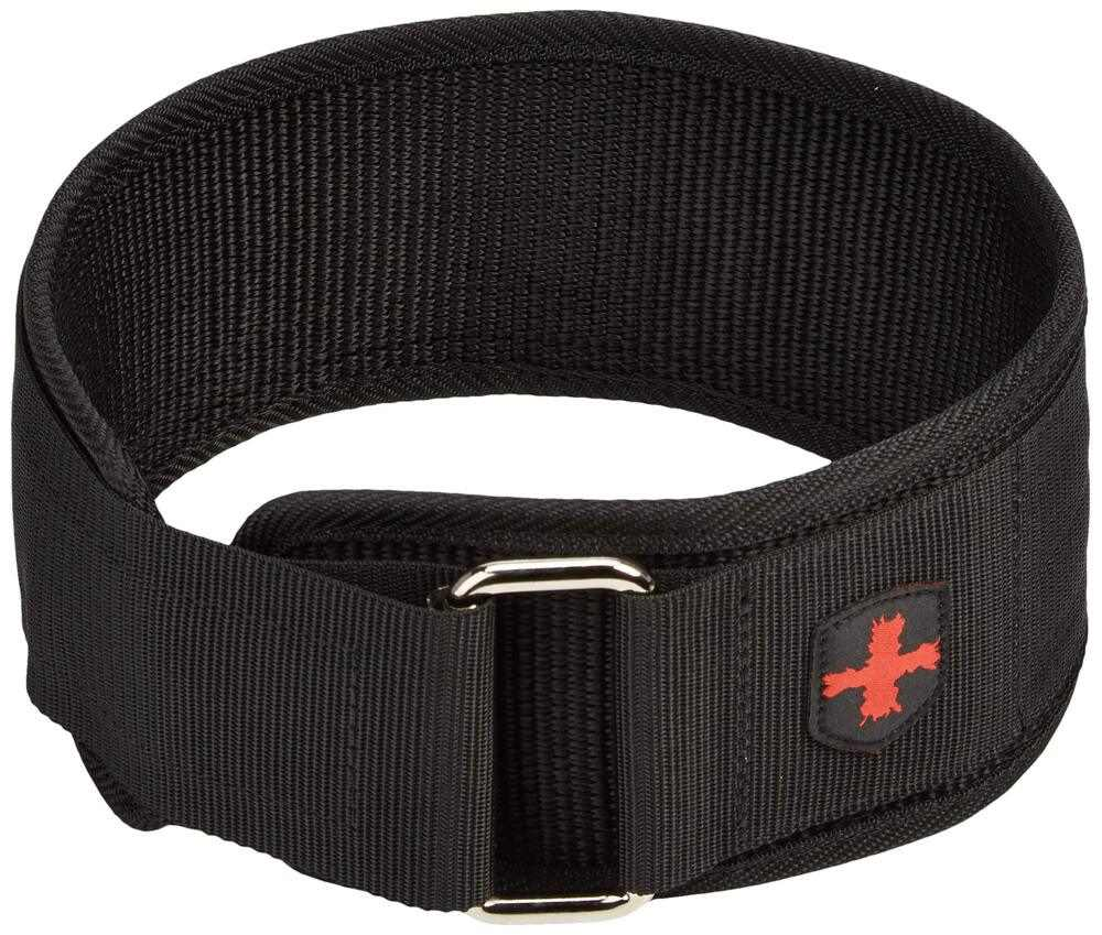 Harbinger 4-Inch Nylon Weightlifting Belt, Medium - yrGear