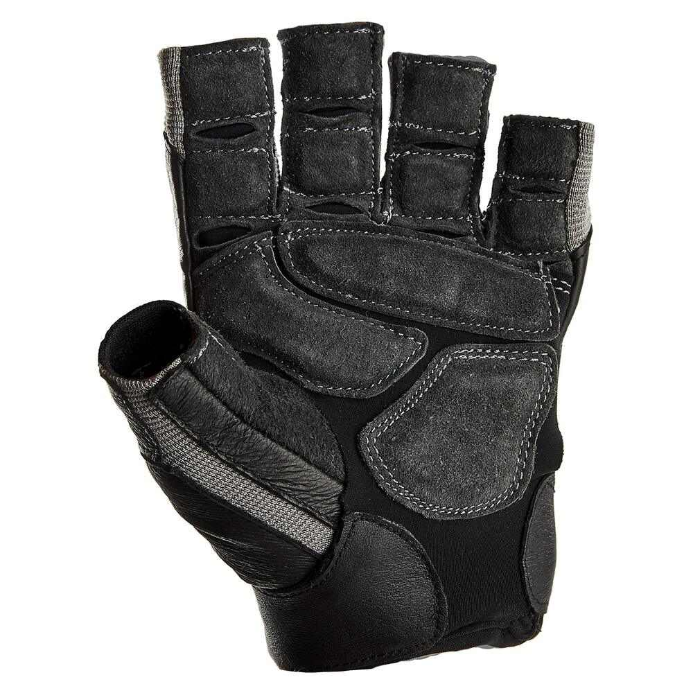 Harbinger Men's BioForm Weightlifting Glove with Heat-Activated Cushioned Palm (Pair), Large