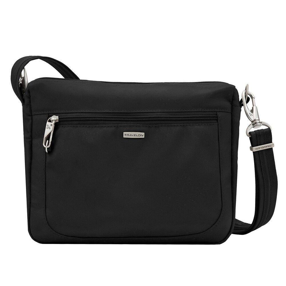 Travelon Anti-Theft Classic Small E/w Crossbody Bag, Black (Black) - 43115 500