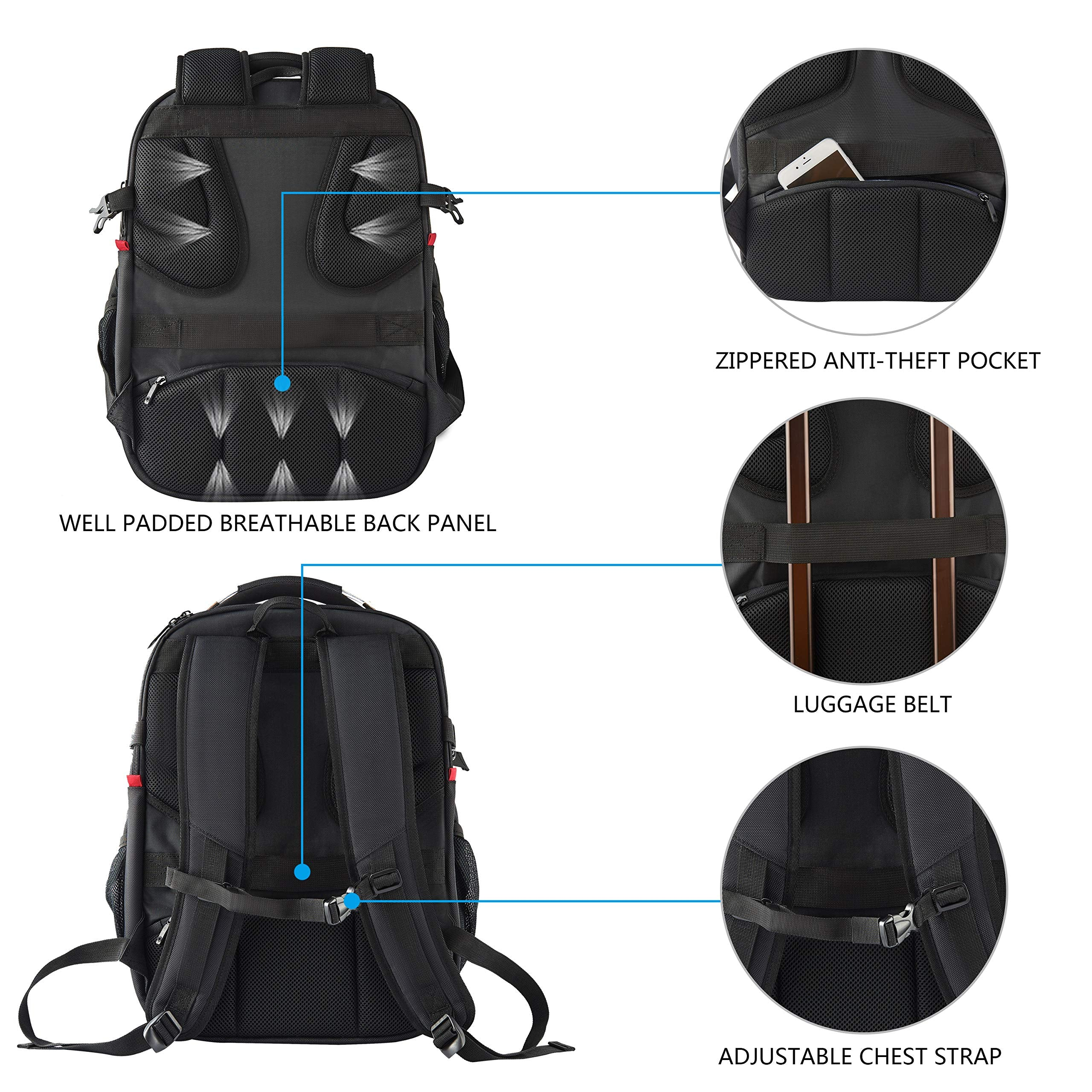Rugged Travel Laptop Backpack - yrGear Australia
