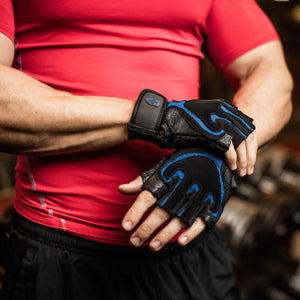 Harbinger Training Grip Tech Gel-Padded Leather Palm Weightlifting Gloves, Pair, Small - yrGear
