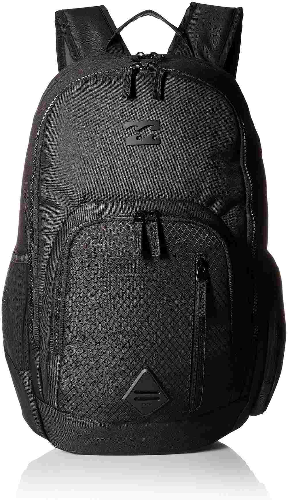 Billabong Men's Classic School Command Backpack, Stealth Black, One Size