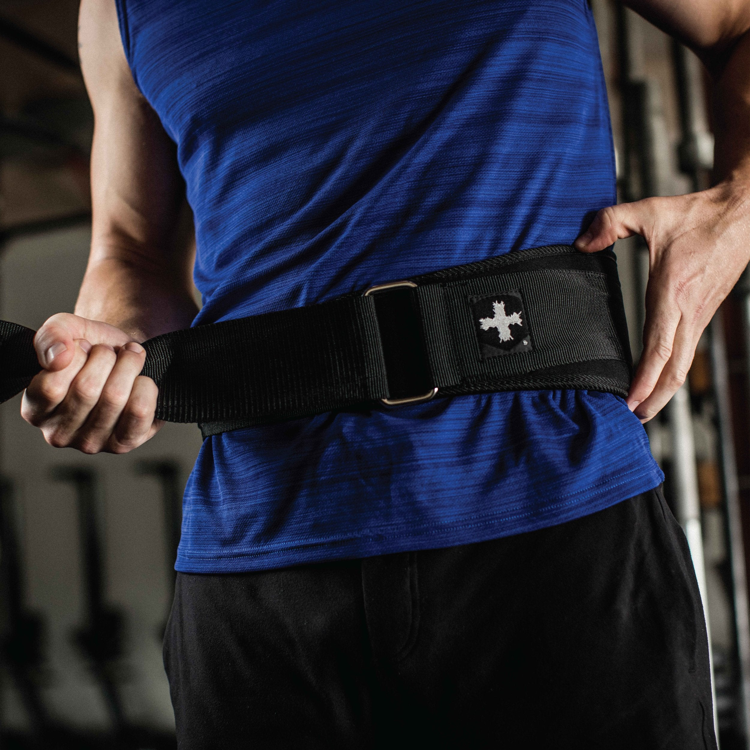 Harbinger Weightlifting Belt with Flexible Ultra-Light Foam Core, 5-Inch, X-Large - yrGear