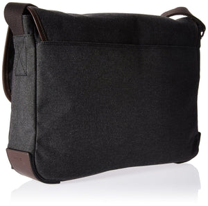 Fossil Men's Messenger Bag, Grey (Black) - MBG9355001 - yrGear