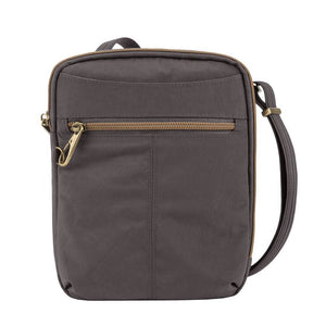 Travelon Travelon Anti-theft Signature Slim Day Bag, Smoke (gray) - 43326-531 - yrGear