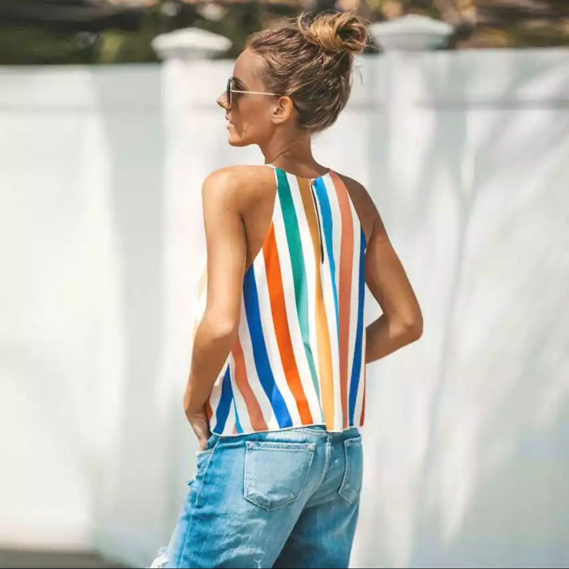 Carnival Stripes Tank Top