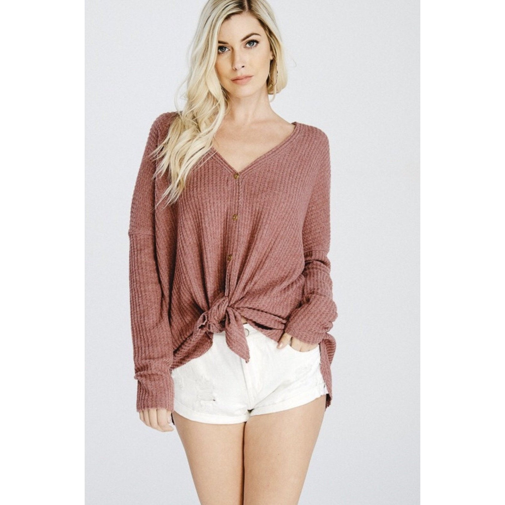 Knotty girl top