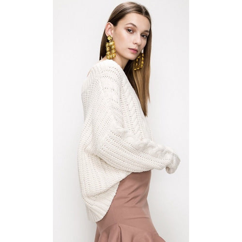 The Monica Cable Knit Sweater