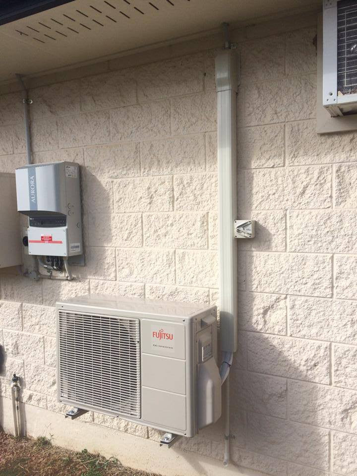 Panasonic - Installation of split systems 2.5KW-5KW
