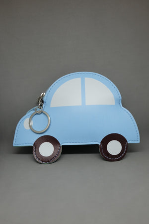 Light Blue Hunchback Car Purse