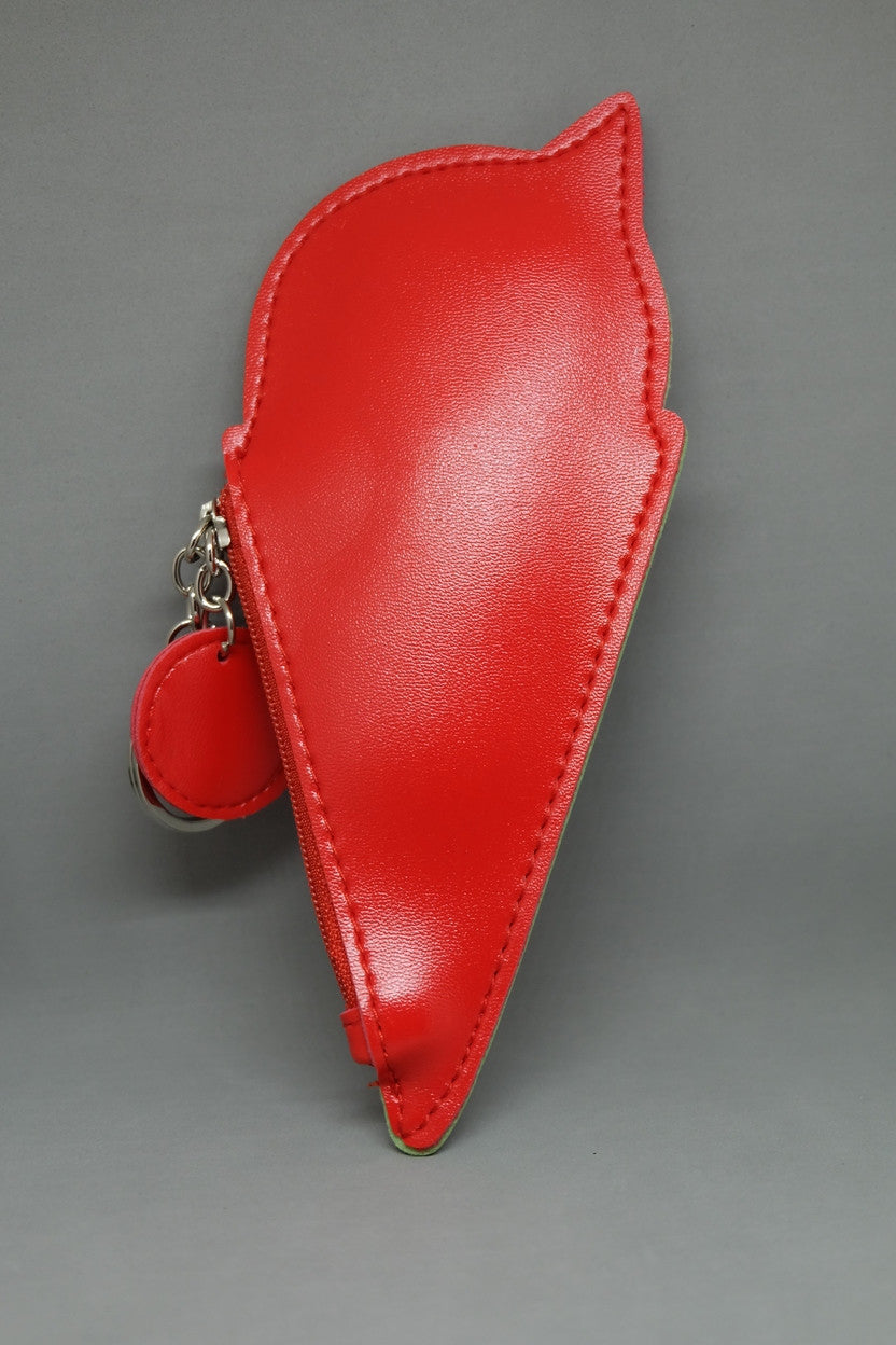 Cherry Cone Coin Purse