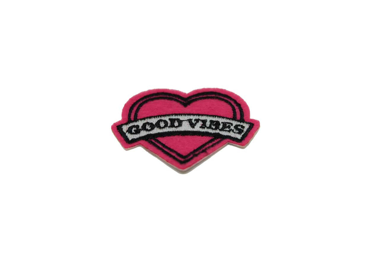 Good Vibes Fabric Patch