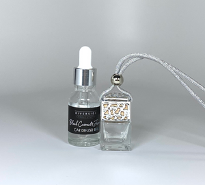 Silver Car Diffuser with Refill
