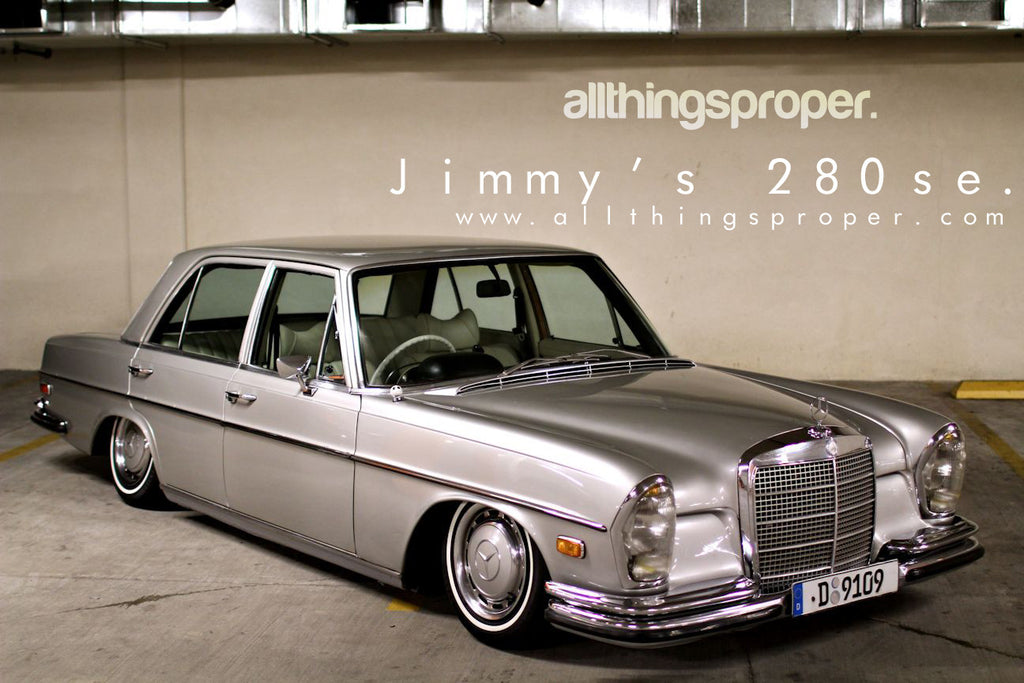 Jimmy's Mercedes 280SE