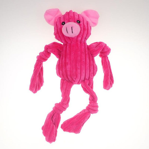 Piggy Soft Squeaky Plush Toy - SaveOnn Cart
