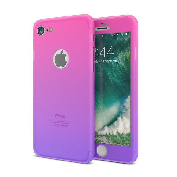 Gradient Apple iPhone Silicone Case - SaveOnn Cart