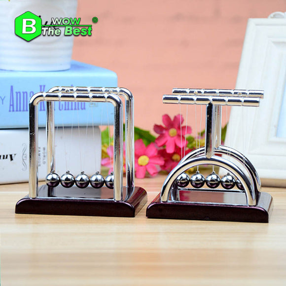 Newton Cradle Balance Ball,Steel Physics Science Pendulum