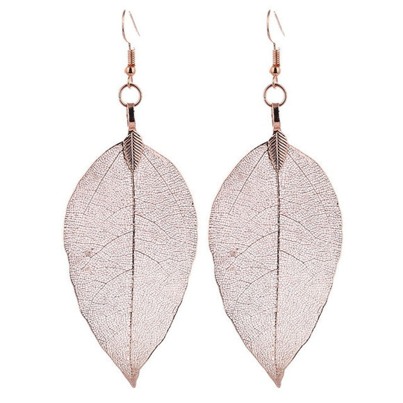 Classic Long Leaf Bohemian Earrings - SaveOnn Cart